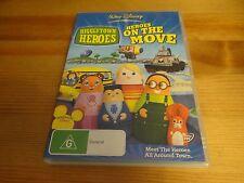 HIGGLYTOWN HEROES - HEROES ON THE MOVE DVD *REGION 4*
