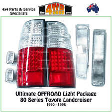 LIGHT PACKAGE fit 80 SERIES TOYOTA LANDCRUISER TAILLIGHT INDICATOR APRON OFFROAD