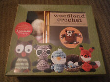 New in Box Woodland Critters Crochet - Make 12 Critters!