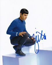 Zachary Quinto signed autographed Star Trek Spock photo