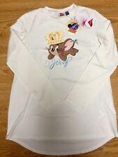 Original Marines Tom and Jerry Maxi Maglia Bambina 10-11 Anni IDEA REGALO