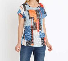 """4.2128 Shirt mit Grafikdruck """"bunt"""" Gr. 40"""