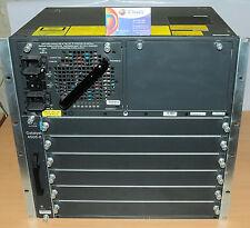 Cisco WS-C4506-E 6 Slot Chassis Switch w/ WS-X4596-E Fan 1xPWR-C45-4200ACV