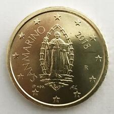50 Cent San Marino 2018 Neuve Effige Cents FDC Santo Fior de Monnaie Rare