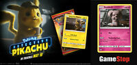 Detective Pikachu Movie Promo Pack & Gamestop Snubbull Promo Card SM200 SET