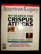 African American Legacy Magazine.The Birth of a Nation, Crispus Attucks
