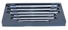 Metric Flat Ring Spanner 6pc Set SP Tools Sp10036