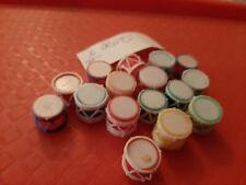 Vintage Gumball/Vending Drum Charms/Toys Lot Of 16