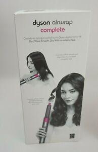 Dyson Airwrap Complete Hair Dryer Styler Nickel/Fuschia
