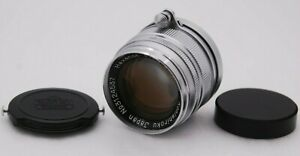 [Near Mint Konishiroku Konica Hexanon 50mm F1.9 L39 Screw Mount LTM From Japan