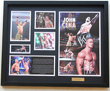 New John Cena Signed Limited Edition Memorabilia FRAMED