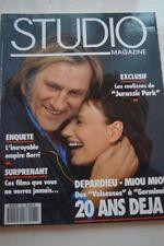 STUDIO MAGAZINE N°78 OCT 1993 DEPARDIEU MIOU MIOU BERRI COULISSES JURASSIC PARK