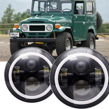 2PC 7 inch LED Headlights For LAND CRUISER FJ40 FJ45 FJ50 FJ55 FJ60 FJ62 FJ70