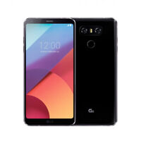 LG G6 H873 32GB Black Factory Unlocked GSM Android 4G LTE 13MP Smartphone GREAT