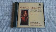 Forqueray Pieces De Viole Suites I&II 1CD Savall/Koopman/Coin 3735