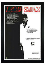 "Scarface, Al pacino 24""x36"" Framed Movie Poster (C2-1049)"