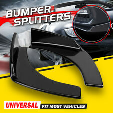 Car Front Deflector Spoiler Splitter Diffuser Parachoques Canard Lip Body Kit Sh