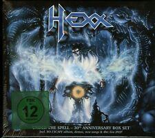 Hexx Under The Spell 30th Anniversary Box Set 2 CD + DVD new