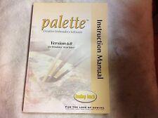 Babylock Palette Version 6.0 Instruction Manual