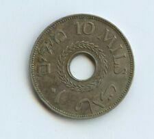 Palestine 10 Mils 1939 Coin