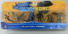 Playmates Godzilla VS Kong Mini Monster 5cm Set of 6 Figure WARBAT BEHEMOTH