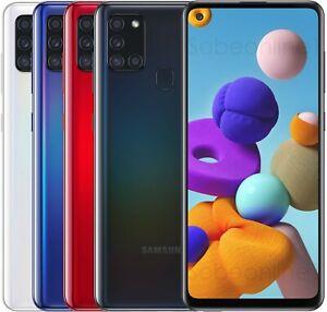 """Samsung Galaxy A21s 64GB 4GB RAM SM-A217F/DS (FACTORY UNLOCKED) 6.5"""" Dual Sim"""