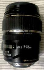 Canon EF-S IS USM 17-85mm f/4.0-5.6 EF IS EF-S USM Lens nearly new