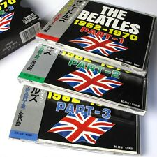 The Beatles 1962-1970 Part,1,2,3 JAPAN 3xCD Box Set W/OBI #13-1