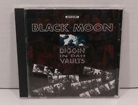 Black moon Diggin' In Dah Vaults CD (1996 Nervous Records) PA Classic Hip Hop LN