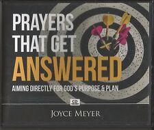 PRAYERS THAT GET ANSWERED    2 CDs   Joyce Meyer