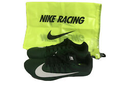 Nike Zoom Rival S Running Shoes Green Mens 8.5 Wrench Spikes Bag Inc New