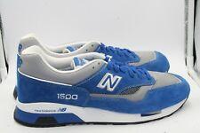 New Balance 1500 Royal blue Suede Grey Mesh DS Size 11 LA Dodgers