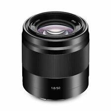 Sony E 50mm f/1.8 OSS Lens (Black) (SEL50F18/B)