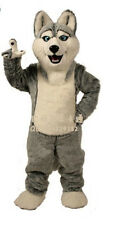TOP SELLING Husky Mascot Cartoon Costume Adult Halloween party dress props