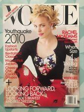VOGUE US January 2010 Rachel McADAMS Fashion Mode Look