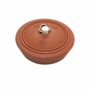 Red Pinned Rubber Plug Suits 50~55mm Sink, Basin and Bath 62055