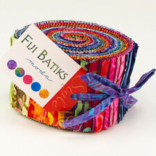 "Moda FABRIC Jelly Roll ~ FIJI BATIKS ~  40 - 2.5"" strips"