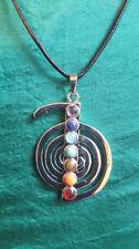 Collares y colgantes de bisutería colgantes de piedra de color principal multicolor