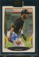 2021 Topps Archives Signature Series Auto Starling Marte 2013 Bowman True 1/1