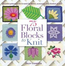 75 Floral Blocks to Knit - Mix & Match for Throws-Accessories-Blankets
