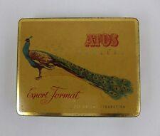Blechdose Zigaretten Dose ATOS Auslese Schwetzingen antique tin litho cigarettes