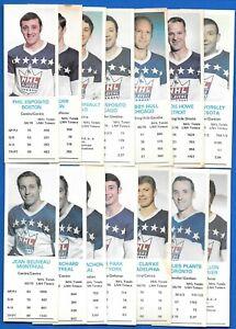 1970-71 DAD'S COOKIES NHL 70-71 DADS COOKIE NHLPA HOCKEY CARD SEE LIST