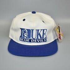 Duke Blue Devils #1 Apparel Vintage 90's NCAA Adjustable Snapback Cap Hat