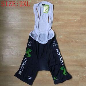 Men's Lycra Cycling Shorts Bib Shorts Padded Bike Cycle Shorts Tights Size 2XL