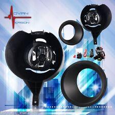 For 2005-2015 Nissan Frontier w/ Metal Chrome Bumper Fog Lights Full Kit SET