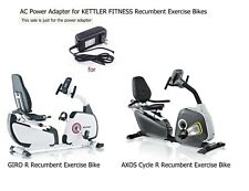 AC Power Supply Adapter for KETTLER FITNESS GIRO R AXOS CYCLE R Recumbent Bike