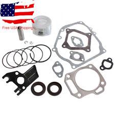 Carburetor Rebuild Kit For Honda GX160 GX200 5.5HP 6.5HP Piston Cylinder Gasket