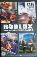 Roblox Top Adventure Games New Hardcover Book