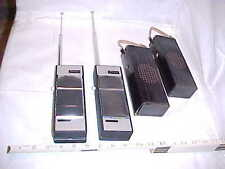 Pair Wt-7 Transceivers Stellar Co. - by Astra. 9-Transistor Hand Held 1965 Rare