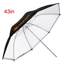 "TARION 43"" 110cm Photo Umbrella 2in1Studio Flash Lighting Reflector Soft Camera"